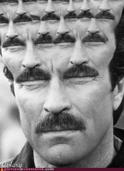 awesome mustache tom selleck - 4621203712