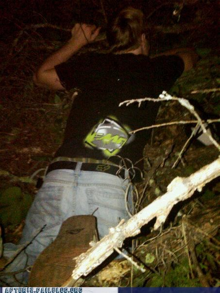 missing passed out photograph woods