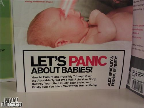 ads,Babies,books,panic