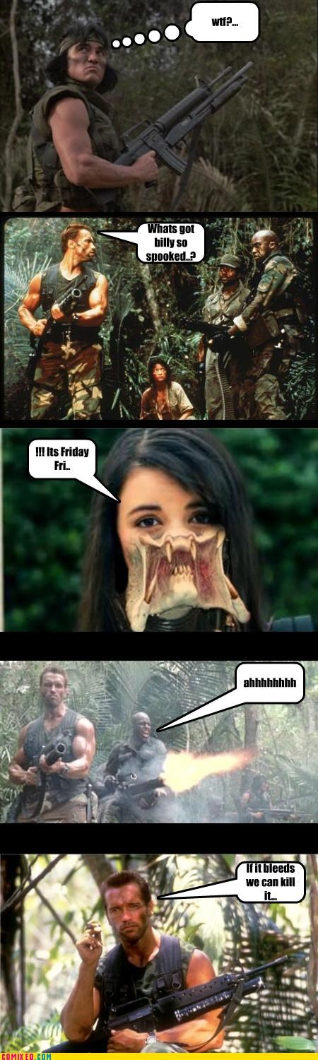 FRIDAY,Predator,Rebecca Black