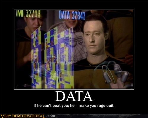 data,game,rage quit,Star Trek