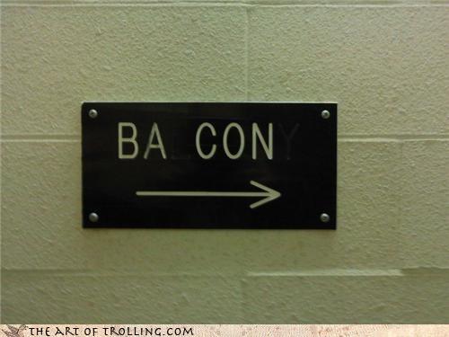 arrow bacon balcony beer can IRL - 4622402560
