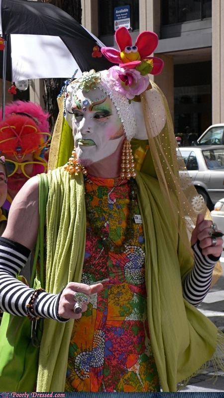 costume cross dresser dark lord devil makeup satan weird wtf - 4622562304