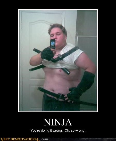 big guy,ninja,tough,wrong,wtf