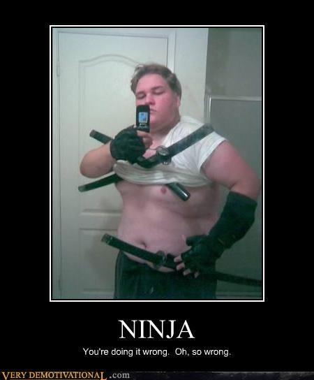big guy ninja tough wrong wtf - 4622842368