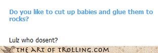 Babies Cleverbot glue murder - 4622859776