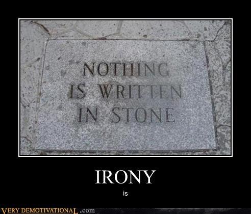 irony stone words written - 4622938112