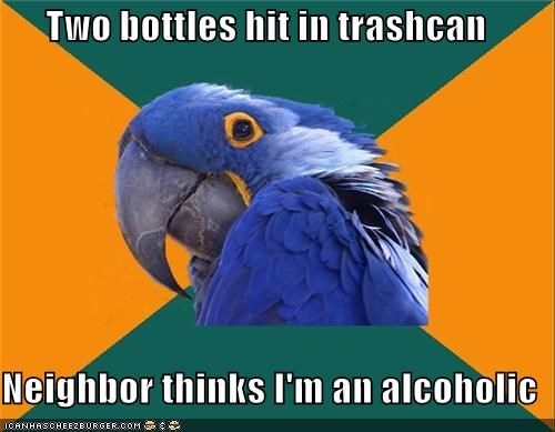 drunk Paranoid Parrot watch - 4623064320