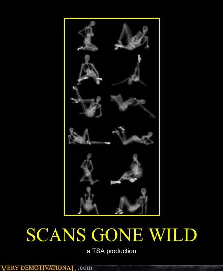 SCANS GONE WILD a TSA production