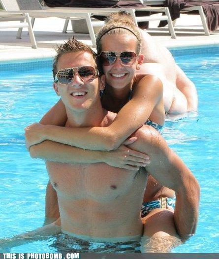 couple pool sunday bunday what an ass - 4623300352
