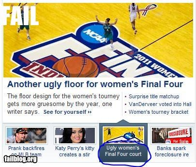 basketball failboat headline Probably bad News sports WNBA women amiright