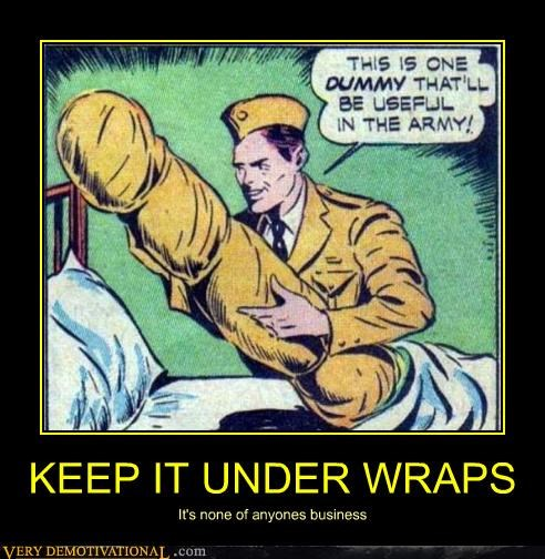 comics dummy hilarious under wraps wtf - 4623630592