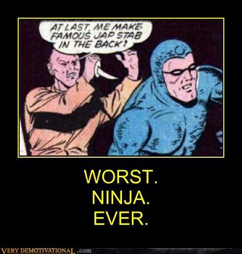 comics Japan ninja racist - 4623634176