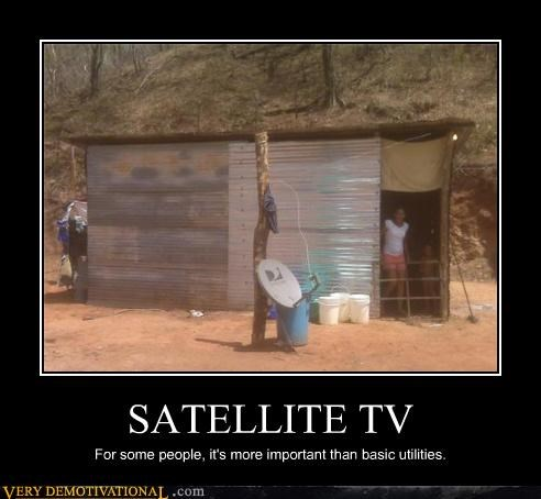 satellite tv,utilities