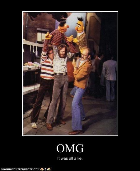 demotivational frank oz funny Hall of Fame jim henson Sesame Street - 4623922688