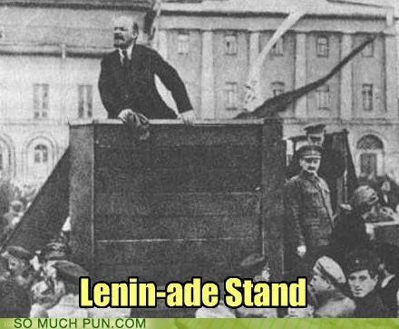 double meaning,lemonade,lenin,literalism,prefix,stand,vladimir lenin
