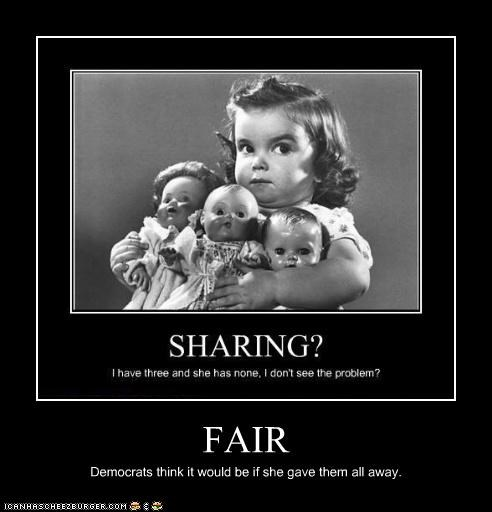 FAIR Democrats think it would be if she gave them all away.