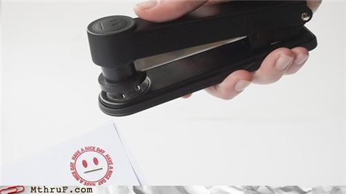 awesome cool funny smile stapler weird - 4624402688