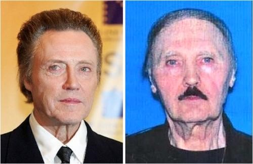 Evil Christopher Walken,mug shot,TLL