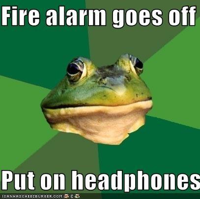 fire,foul bachelor frog,headphones,Memes,Music