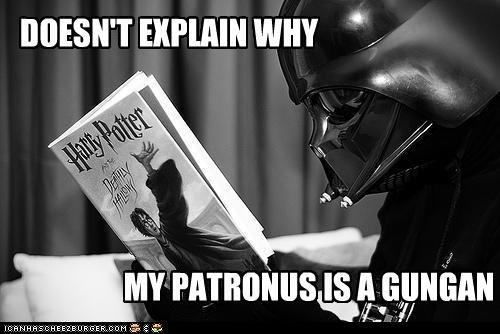 dart vader funny Harry Potter sci fi star wars