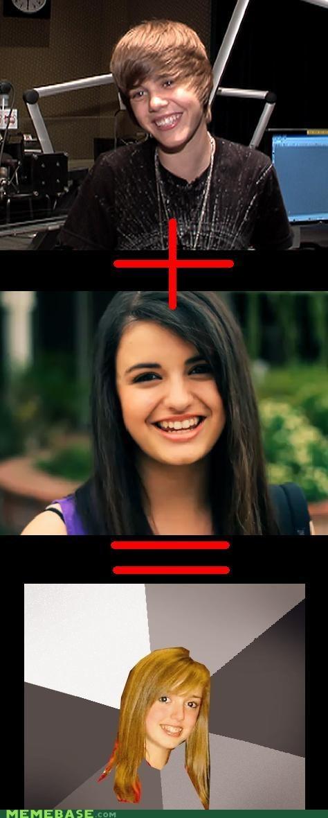 justin bieber Musically Oblivious 8th Grader Rebecca Black - 4624652288