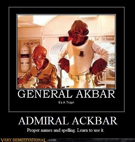 admiral ackbar awesome star wars - 4624660736