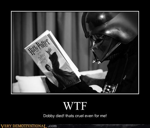 darth vader,Dobby,Harry Potter,wtf