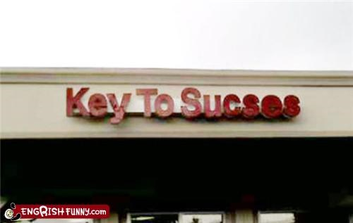 business FAIL success typo