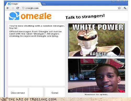 Omegle power rangers television white power - 4625265664