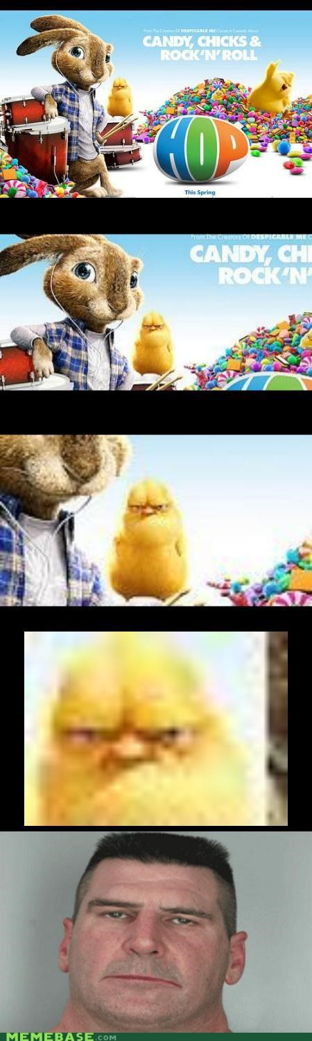 bunny,hop,i am disappoint,Memes,movies,Reframe,son