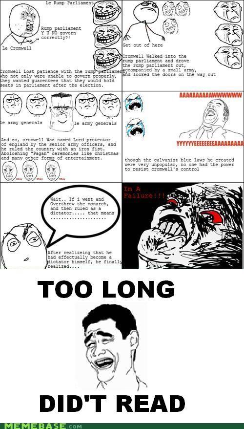 i knew it Memes Rage Comics tldr - 4625922816
