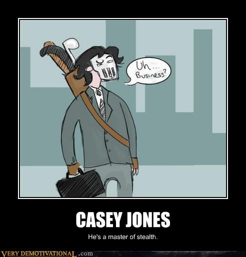 business,casey jones,stealth