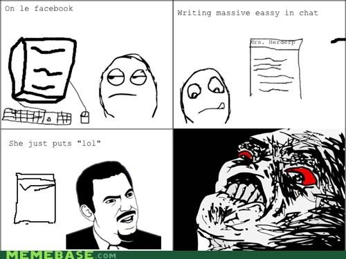 chat,facebook,Rage Comics,Y U NO