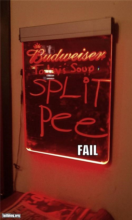 failboat food g rated gross signs soup spelling urine - 4627821824
