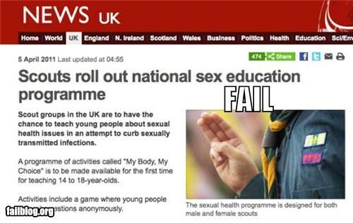 boy scouts england failboat innuendo juxtaposition Probably bad News - 4627851776