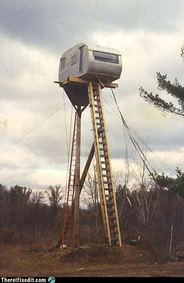 classic ladder mobile home trailers wtf - 4628073728