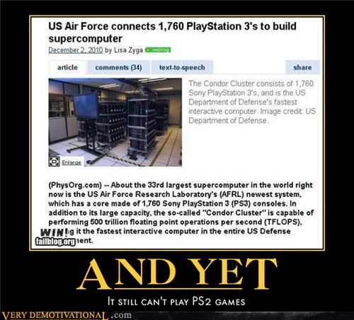 FAIL Hall of Fame news ps2 ps3 us air force