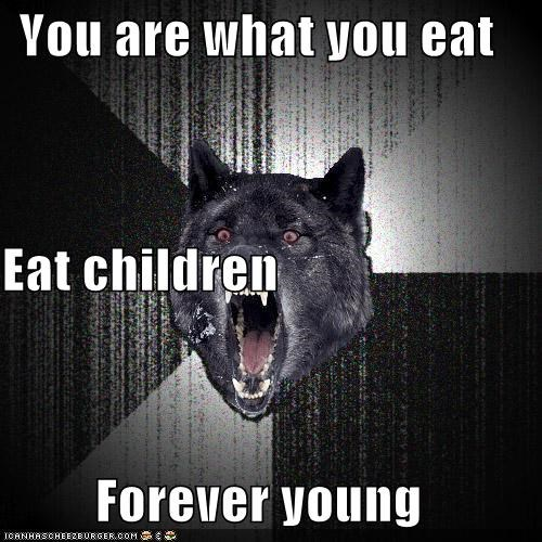 children,forever young,future,Insanity Wolf