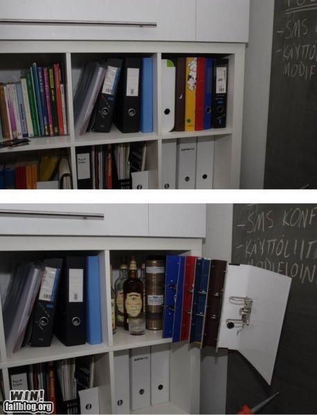 bookshelf happy hour secret