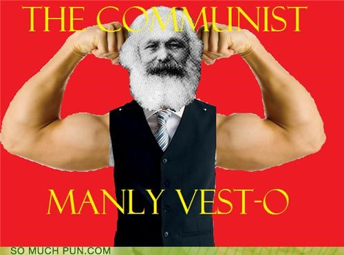 communism communist karl marx literalism manifesto manly Marxism o similar sounding suffix the communist manifesto vest - 4628854272