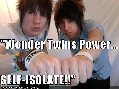 emo,fist bump,super heroes,wonder twins