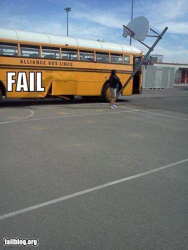 basketball,bus,crashed,driving,failboat,g rated,oops,school