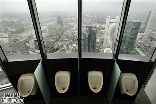 bathroom,beautiful,Brother Nature FTW,city,urinal,view