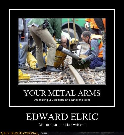 edward elric,full metal alchmeist,metal arms,wtf
