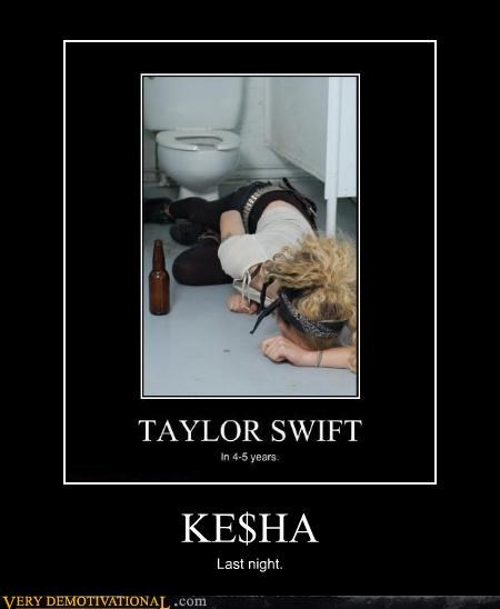 kesha,Party,passed out