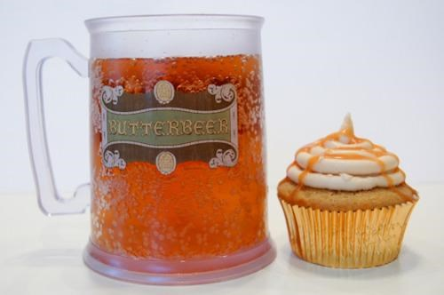 butterbeer,Harry Potter,Kickass Cupcake,Magical Comestible