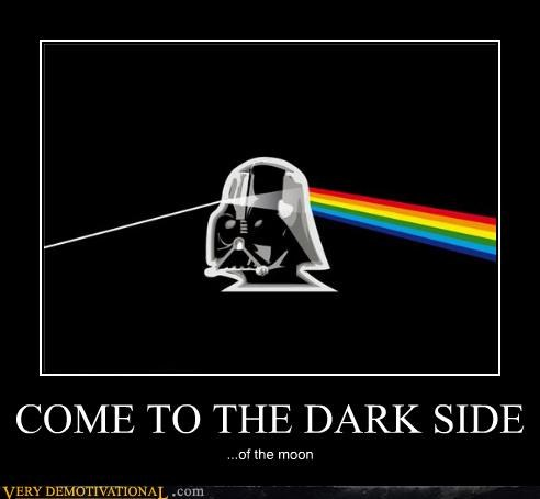 dark side darth vader pink floyd star wars - 4631013376