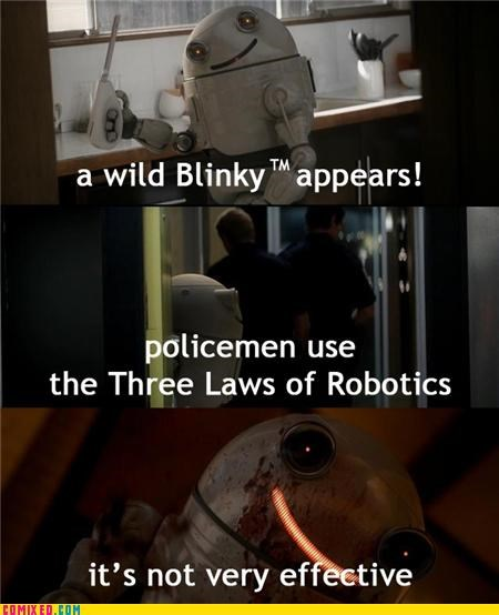 blinky,effective,laws of robotics,robot