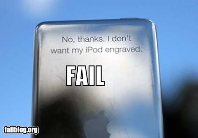 engraving facepalm failboat gift g rated ipod no thanks - 4631399680